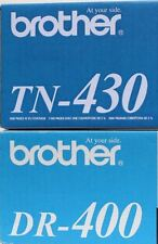 8 Virgin EMPTY & USED Brother TN-430 TN-460 DR-400 Toner Cartridges & Drums