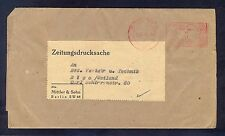 Germany(Ostland), 1943, Newspapers printed matter sending from Berlin to Riga