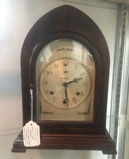 Waterbury No. 335 Westminster Chime Bracket Mantle Clock Works Well NICE