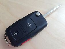 NEW VW VOLKSWAGEN FLIP KEY REMOTE FOB SHELL REPLACEMENT KIT BEETLE JETTA PASSAT