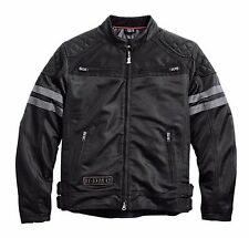 Harley Davidson Mens WillieG Excam Warrior Skull Motorcycle Mesh Jacket M Medium
