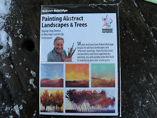 PAINTING ABSTRACT LANDSCAPES & TREES BY ROBERT (BOB) BURRIDGE DVD ART EDUCATION
