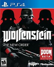 NEW Wolfenstein: The New Order  (Sony PlayStation 4, 2014) NTSC