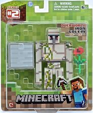 MINECRAFT TOYS -Population Iron Golem action figures with accessories