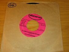 "GROUP DOO-WOP 45 RPM - THE SOPHOMORES - DAWN 225 - ""IS THERE A SOMEONE FOR ME?"""