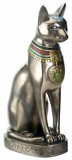 "12.25"" Egyptian Medium Bastet Sculpture Ancient Egypt God Statue Cat"