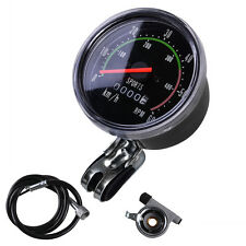 NEW Analog Speedometer odometer Classic Style  for exercycle & Bike