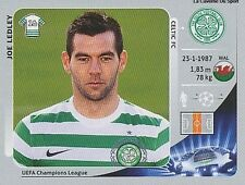 N°509 JOE LEDLEY # WALES CELTIC.FC CHAMPIONS LEAGUE 2013 STICKER PANINI
