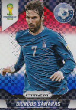 Panini PRIZM FIFA World Cup 2014  GIORGOS SAMARAS Greece No.103  Red Blue Power