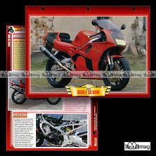 #046.02 Fiche Moto SEGALE SR 900 R Moteur Honda CBR 900R Motorcycle Card