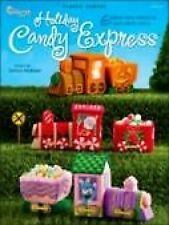 Holiday Candy Express Trains) Plastic Canvas Cross Stitch Chart Pattern Booklet
