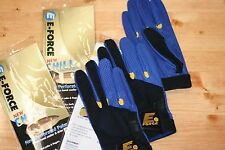 E-Force EForce E Force Racquetball Gloves CHILL BLUE COLOR  3-GLOVE RIGHT LARGE
