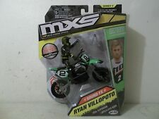 2017 JAKKS MXS RYAN VILLOPOTO #2 THOR PARTS UNLIMITED DC KAWASAKI KX GREEN