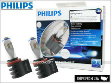 Philips X-treme Ultinon 6000K LED Light bulbs 2400LM 10W H8 H11 Fog Head lamps