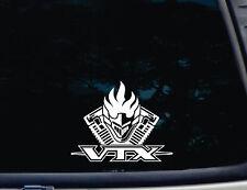 """Honda VTX Decal with Engine - 1800 - 1300 - 7"""" x 5-1/2"""" - Die cut - not printed!"""