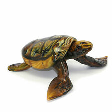 Sculpture Collection Turtle Murano Glass 41x32 cm Made in Italy