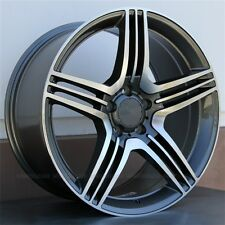 "19"" Set(4) MERCEDES BENZ 5X112 E350 E320 CLK320 SLK350 SLK300 19x8.5/9.5 Wheels"