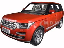 2013 LAND ROVER LAND ROVER RED 1/18 DIECAST MODEL CAR BY WELLY 11006