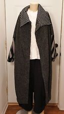 NWT KEDEM SASSON FABULOUS COAT - SOLD OUT! GREAT SHAWL COLLAR REDUCED PRICE!