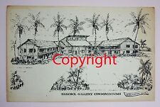 1960's Print HANCOCK GALLERY CONDOMINIUMS Fort Myers Beach Florida W Harold ?