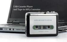USB Walkman Audio Cassette Player Tape To Mp3 Converter