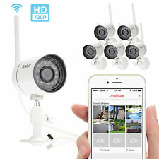 Funlux 6 1280*720P IP Network Wireless IR Outdoor Home Security Camera System