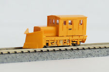Locomotive TMC100BS w/Snow Plow (Orange/3 Window) - Tsugawa Yokou 14025(N scale)