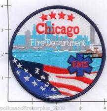 Illinois - Chicago IL Fire Dept Patch New Style