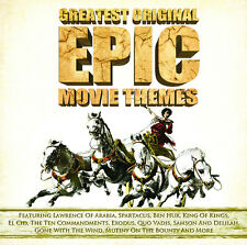CD GREATEST ORIGINAL EPIC MOVIE THEMES EL CID EXODUS SPARTACUS LAWRENCE BEN HUR
