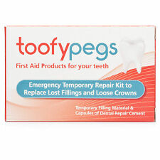 Toofypegs - Emergency Dental Repair Kit For Lost Fillings & Loose Crowns