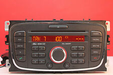 FORD 6000 CD Autoradio Lettore CD mk4 Mondeo Focus Transit S Max Galaxy Connect