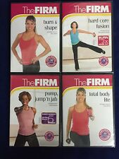 NEW The Firm DVD: Burn & Shape, Hard Core Fusion, Pump Jump Jab, Total Body Life