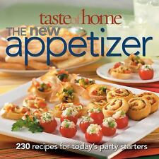 Taste of Home: The New Appetizer: 230 recipes for today's party-ExLibrary