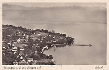 AK Nonnenhorn gel. 1939 Bodensee Luftaufnahme Lindau Schwaben Wasserburg