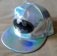 Men's Snapback Cosplay Batman Back To The Future Color Changing Cap Hip Hop Hat
