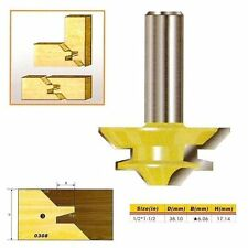 "45 Deg Medium Lock Miter Router Bit - 1/2*1-1/2 - 1/2"" Shank -"