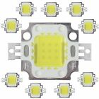 10pcs 10W Cool White High Power 800-900LM LED light Lamp SMD Chip DC 9-12V