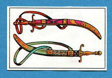 ARMI E SOLDATI - Edis 71 - Figurina-Sticker n. 104 - PUGNALI ARABI -Rec
