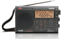 TECSUN PL660 PLL WORLD BAND RECEIVER FM / MW / LW / SW / AIR   BLACK