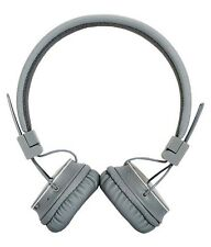 High Coins HT 11 HeadPhone with Inbuilt FM & Memory Card Slot Grey