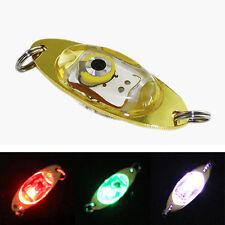 LED Tief Tropfen Unterwasser Auge Form Fischen Fisch köder Licht Blinkend Lampen