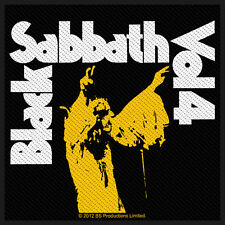Black Sabbath - Vol. 4 Album Cover Patch Aufnäher Doom Heavy Metal Ozzy kult NEU