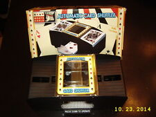 MONTE CARLO 2-DECK AUTOMATIC CARD SHUFFLER BRAND NEW IN BOX