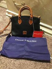 NWT Dooney & Bourke Sample Handbag Exclusive small bag in black pebbled leather