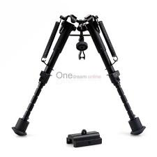 "Heavy duty 6""to9""Adjustable Bipod for Rifle Gun Picatinny Rail Mount W/ adapter"