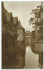 Sepia Postcard of The Weavers, Canterbury