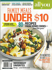 NEW! FAMILY MEALS UNDER $10 2015 80+ Recipes Cook 20 Minutes or less Pizza Stews