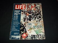 1962 JULY 13 LIFE MAGAZINE - KENNEDY IN MEXICO - BEAUTIFUL FRONT COVER - F 2844