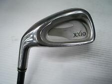 Left-handed DUNLOP XXIO 6pc Graphite Shaft R-flex CAVITY BACK IRONS SET Golf