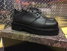 DEMONIA Street-501 Men's Rockabilly Punk Black Laceup Oxford Casual Shoes sz. 12